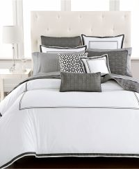 Hotel Collection Embroidered Frame Bedding Collection ...