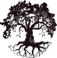 Best Oak Tree Silhouette #17919 - Clipartion.com ...