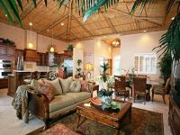 tropical home decor ideas with vintage design | Living ...