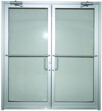 Commercial Glass Double Doors