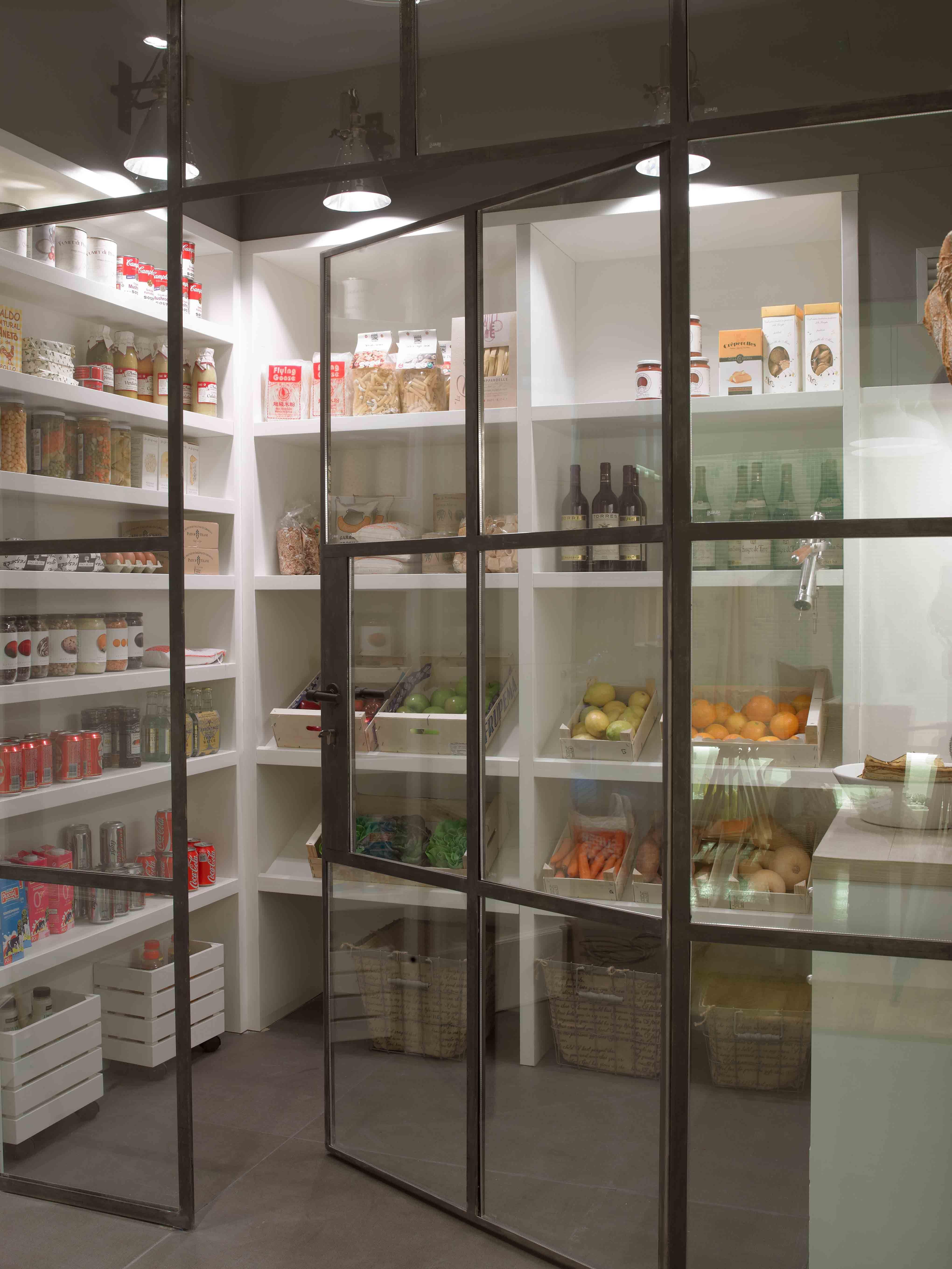 kitchen pantry shelving new design storage room alacena casadecor madrid 2014 deulonder