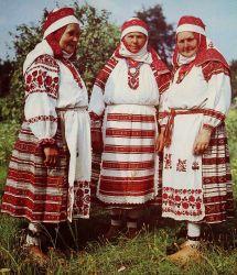 Traditional Folk Costume Ukraine