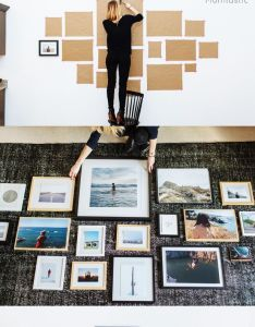 Cheap and easy diy wall decor ideas  gallery is the perfect way to display your favorite family photos photoshoot home also decoracion pinterest rh