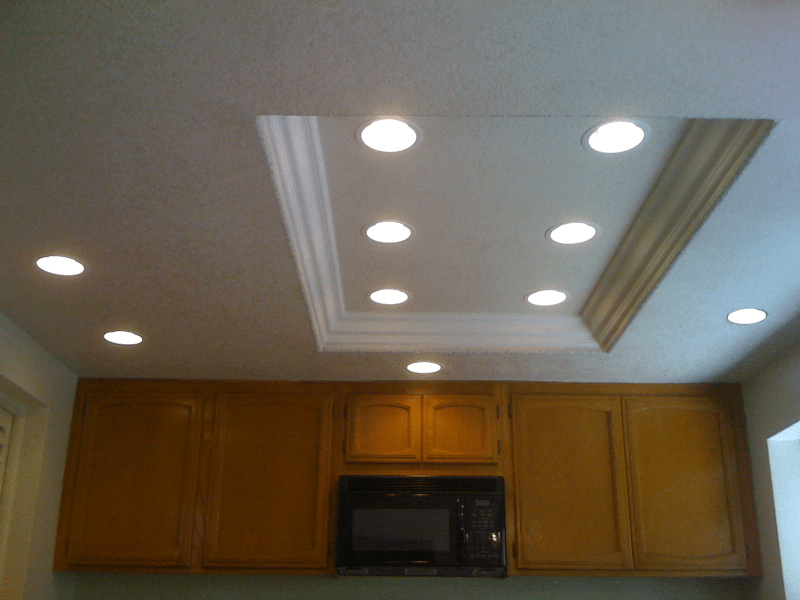 Replacing Flourescent Bulb In Kitchen Ceiling Light