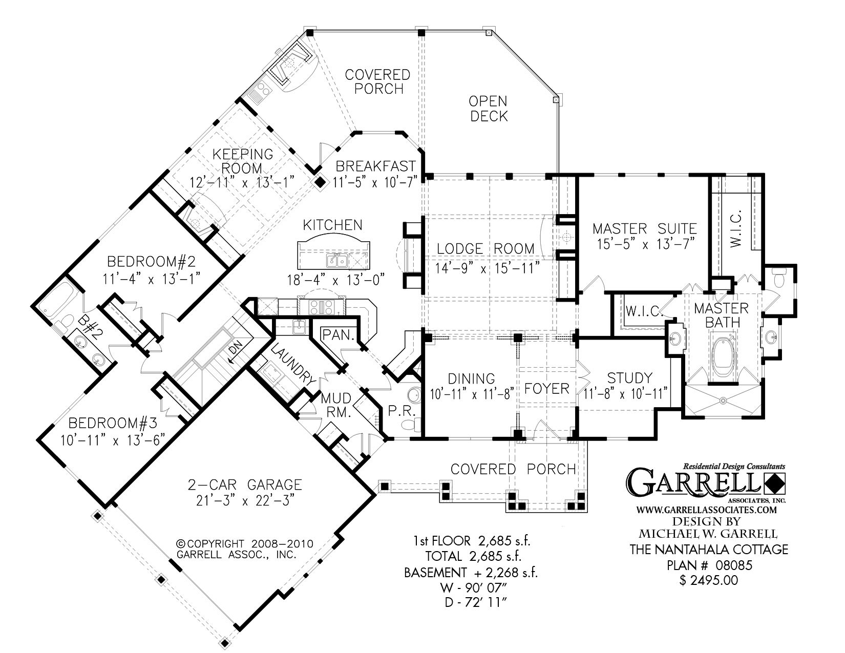 Page 2 Of 21 Mountain House Plans The House Plan Shop Gatlin