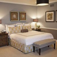 Bedroom , Decorative Bedroom Chair Rail Ideas : Crown ...