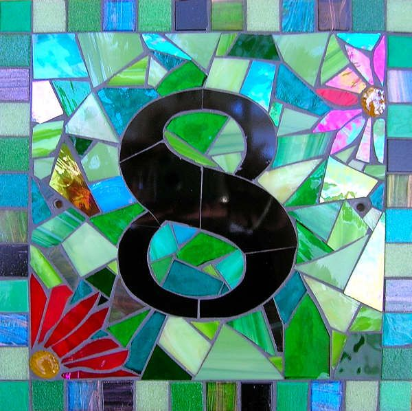 House Number Mosaic Mosaic Pinterest Mosaics House And Search