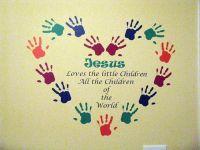 church wall art with scripture   JesusLovesChildren.jpg ...