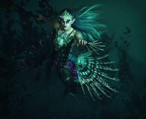 Mermaid Merman deviantART