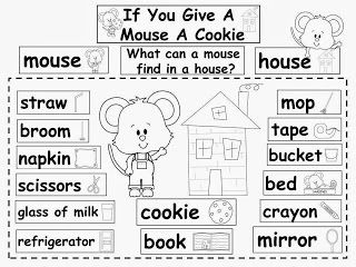 Free: If You Give A Mouse A Cookie by Laura Numeroff Word