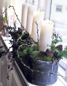 beautiful window sill decorating ideas for christmas and new years eve party also rh pinterest