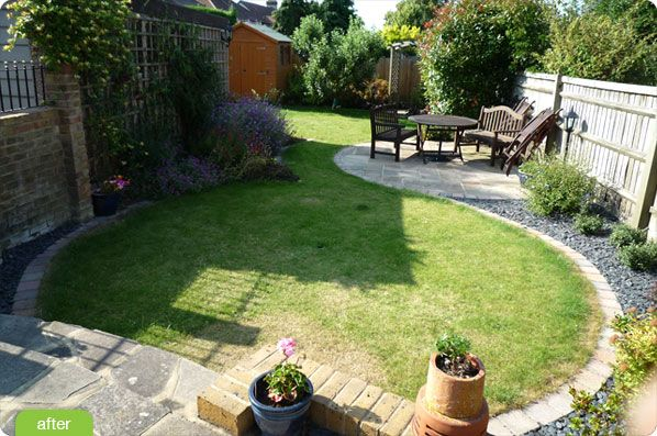 elegant small yard landscape