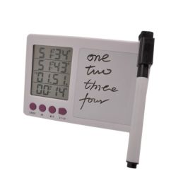 Digital Kitchen Timers Cabinets Light Wood Electronic With Bracket Magnet Adsorption Timer Four Channel Free Shipping