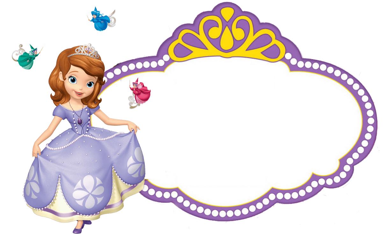 Princess Sofia Party Printables