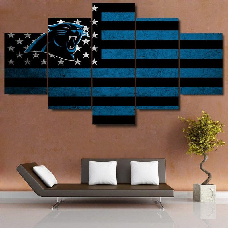 Carolina panthers flag canvas print also flags canvases and custom rh pinterest