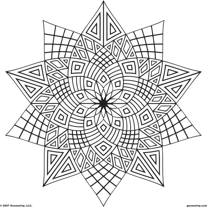 Mandala 0001 Free Printable S Coloring Pages Sheets All About For Kids