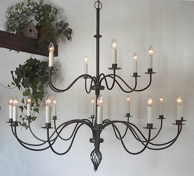 Loooove Wrought Iron Chandeliers 60 Inch Diameter Wouldn T This Look Great In