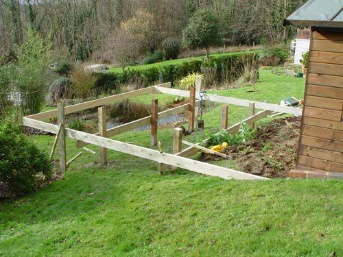 Decking Sloping Garden Google Search Garden Pinterest
