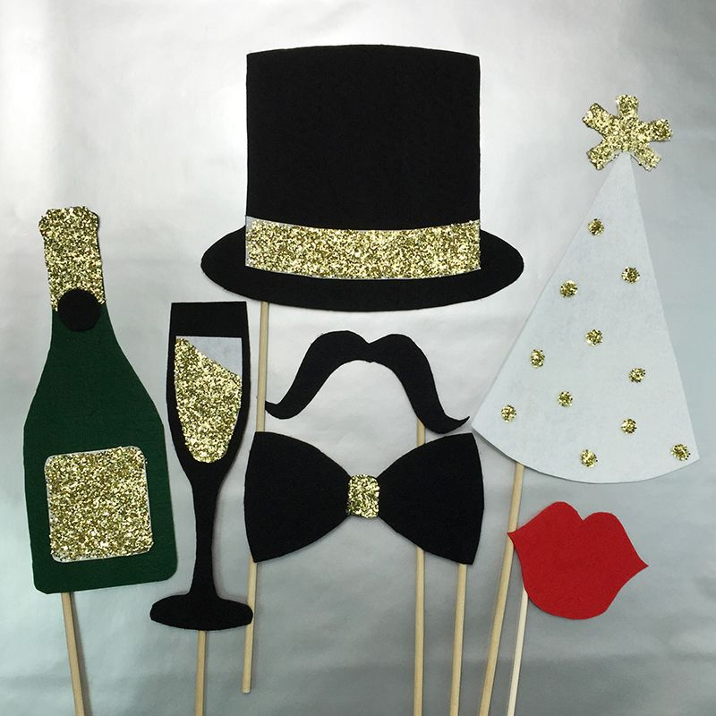 CPE The New Image Group New Year's Props #diy #newyears #nye
