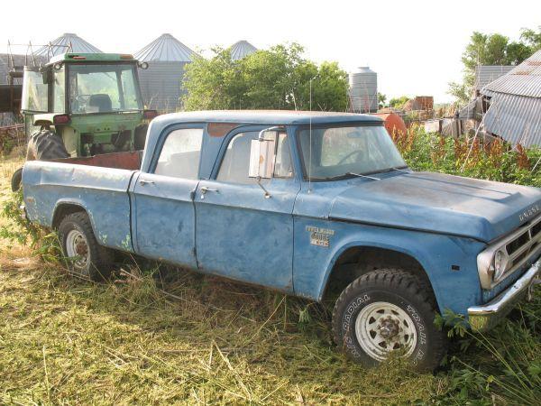 1970 Dodge Power Wagon Crew Cab 1967 Dodge Power Wagon W200 Crew Cab