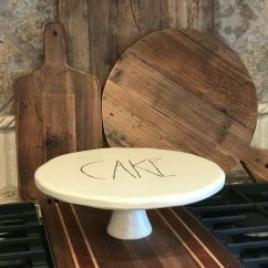 Kitchen Canisters Pottery Countertops Lowes Rae Dunn Inspired Cake Stand | Party Ideas Pinterest ...