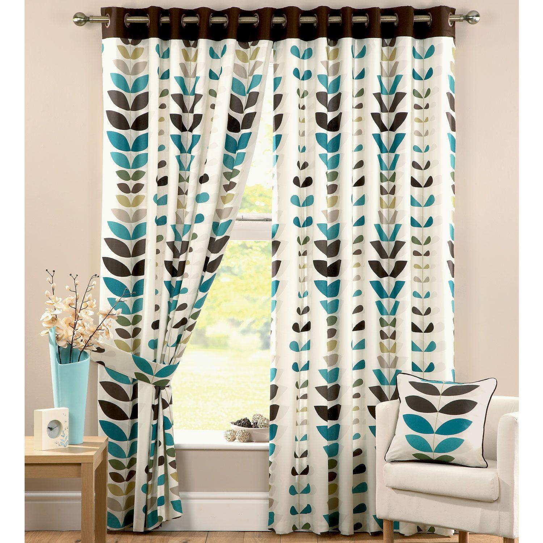 Zest Teal Curtains Kitchen Ideas Pinterest Teal Leaf Prints