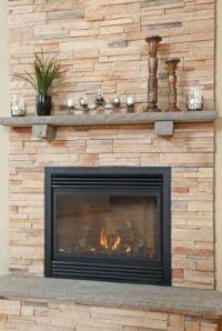 Nice Gas Fireplace Surround #10 Gas Fireplace Stone ...