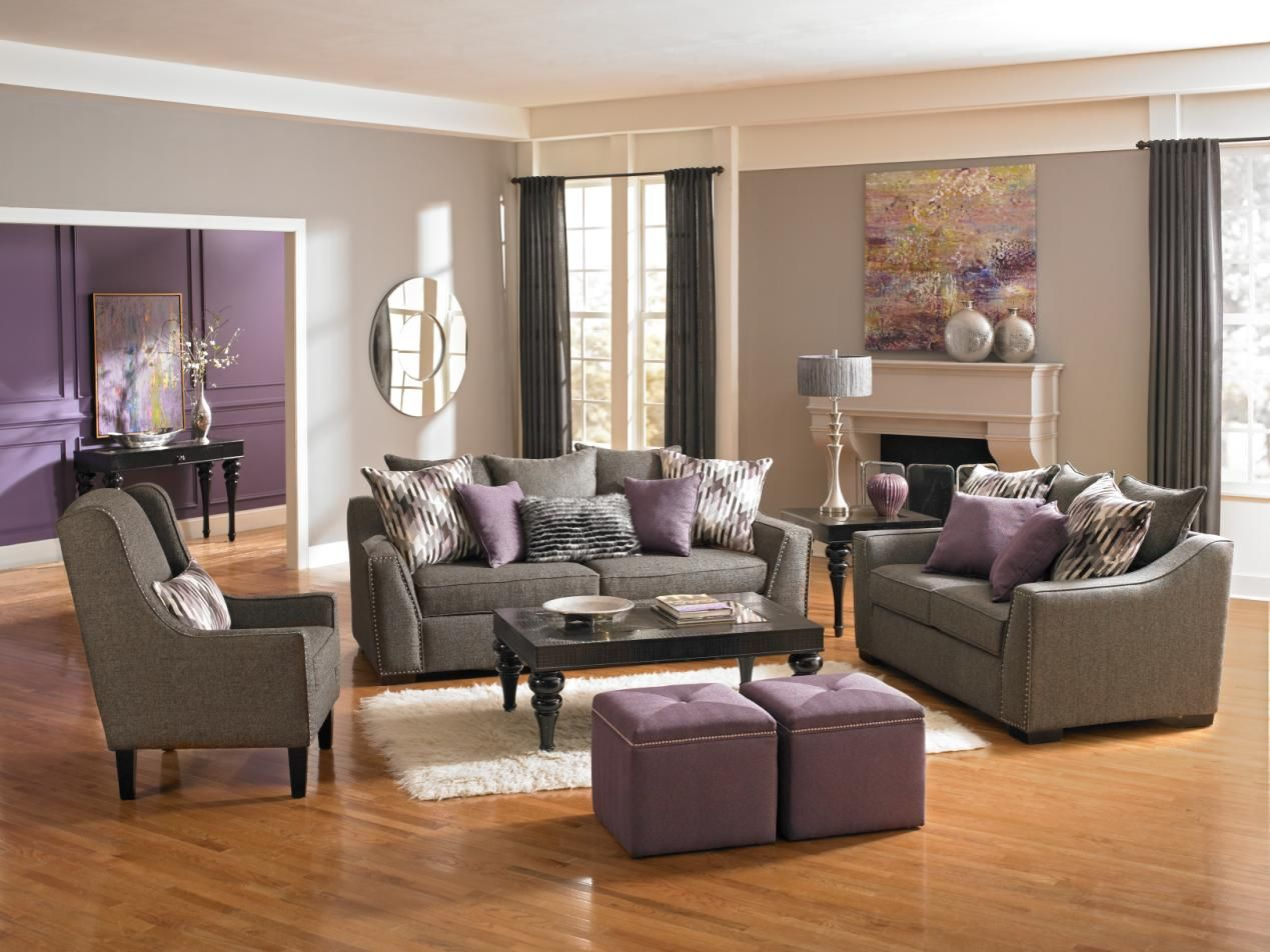 Grey Living Room Chairs Accent A Room With Radiant Orchid Like We Did Here With