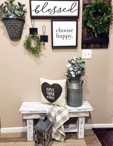 Choose happy and love you more also rustic home decor pinterest rh