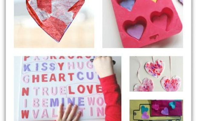 25 Fun Easy Valentine S Day Crafts And Activities For