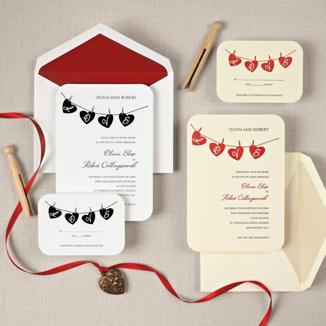 Cute Wedding Card Ideas | Rezzasite.co