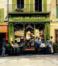 Eat pastries at a cafe in France | Bucket List | Pinterest ...