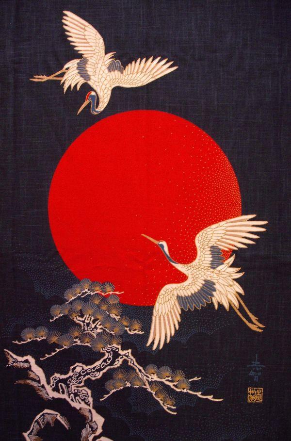 Japanese Crane Art Prints