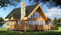 Log Cabin Home Plans Designs