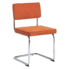Orange Dining Chairs Uk White Wood Sevilla Cantilevered Chair