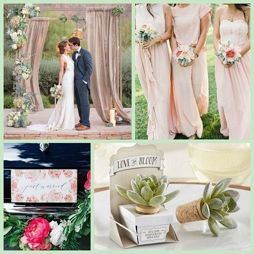 Outdoor Wedding Inspiration And Garden Wedding Favors Ideas From