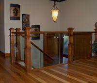 glass railings indoor | Ford Metro Glass | Deck railing ...