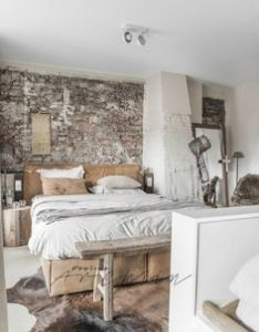Cozy industrial bedroom decor design ideas to make your house feel like also rh pinterest
