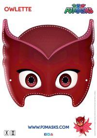 Make your own Owlette mask! #pjmasks #owlette # ...