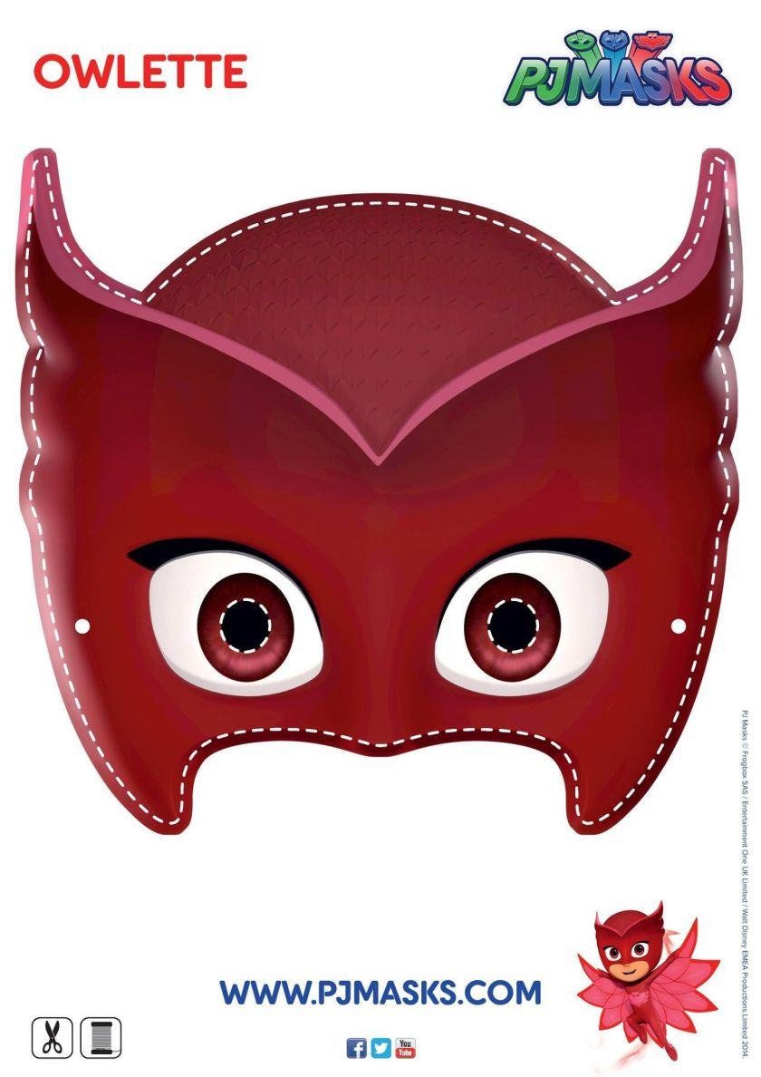 make your own owlette mask! #pjmasks #owlette #