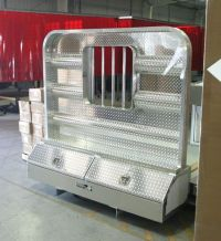 Headache racks for semi trucks by Highway Products ...