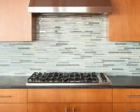 Kitchen With Glass Tile Backsplash Decorative Glass Tile ...