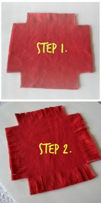 Tie No Sew Pillows and a Blanket | Stitch, Craft and Blanket