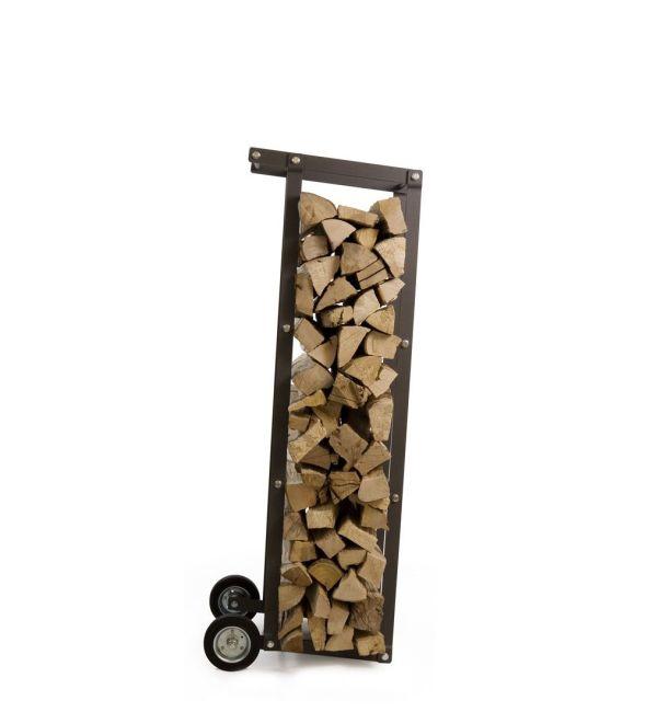 Truck Mobile Firewood Rack Ak47 Design Wood Storage