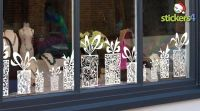 Classic Presents Cling Window Border for Christmas Windows ...