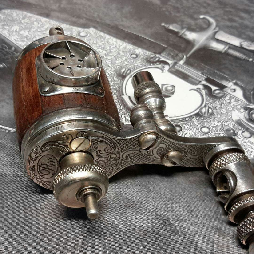 tattoo machine wiring diagram danfoss vfd steampunk rotary
