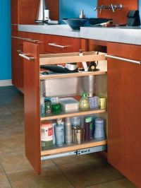 bathroom vanity pull-out shelves | Shelves That Slide ...
