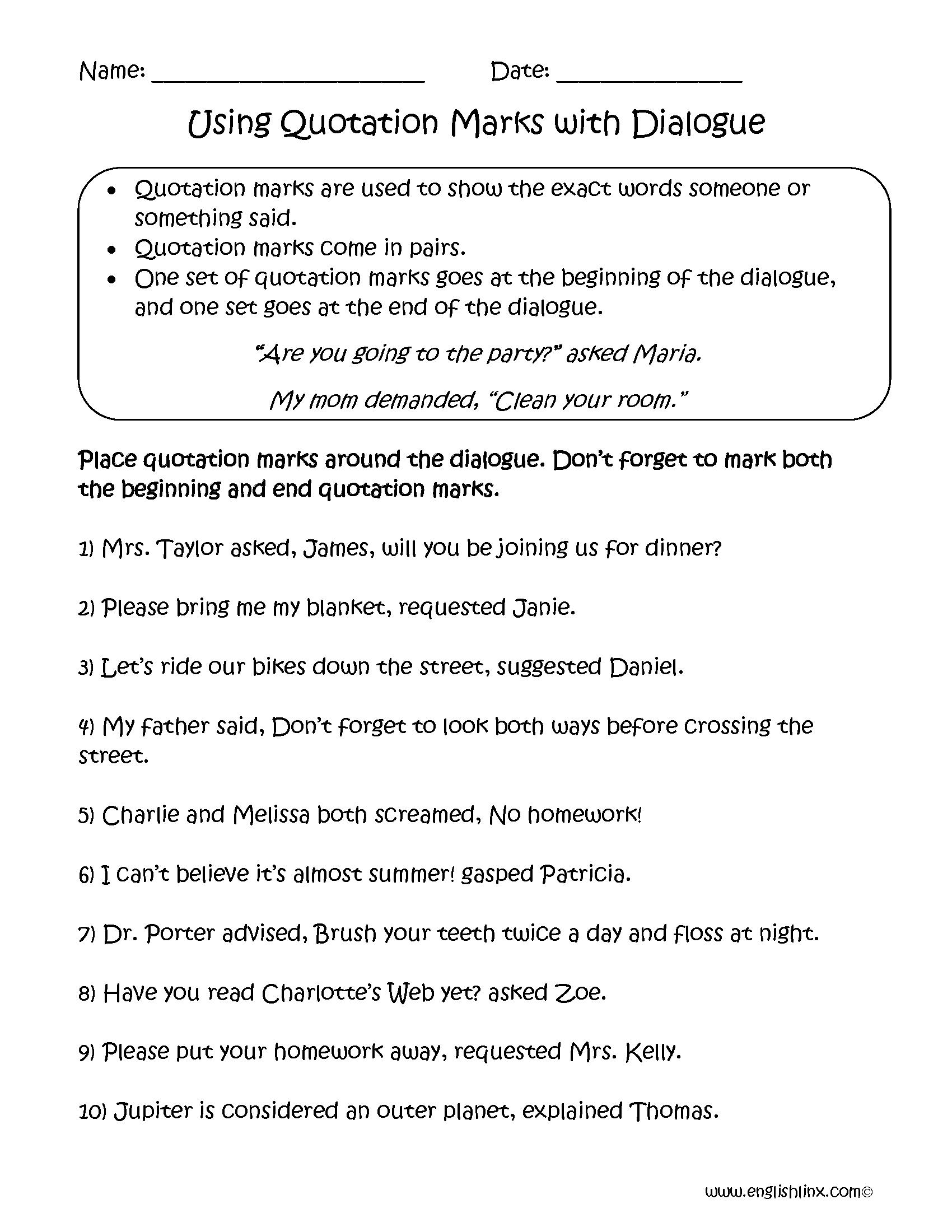 Floss Rules Valentine S Worksheet