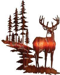 "18"" Whitetail Deer Wall Art www.rusticeditions.com | Deer ..."