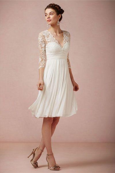 Vintage Hochzeitskleid Die A Linie Kleider Standesamt